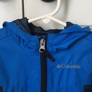 Columbia lightweight infant rain jacket